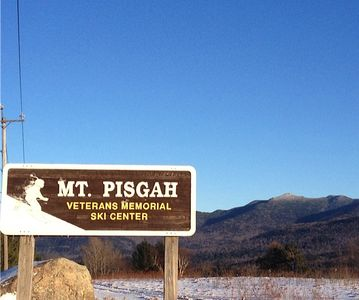 Mt. Pisgah, Saranac Lake just 5 miles from Bear'n Lodge.