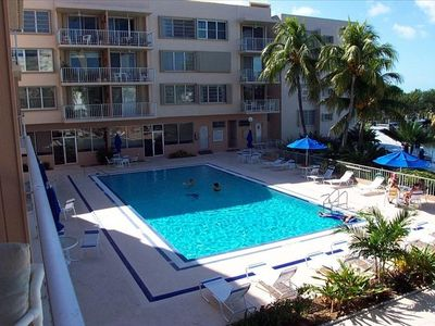 Plantation Key condo rental - Pool View From Balcony