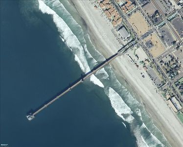 3 miles of Sandy beach plus longest wooden pier in California!