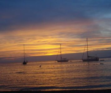 Romantic Harbor Sunset. Fall in LOVE again on Martha's Vineyard!