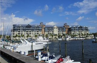 Tampa townhome photo - View of the community 4 star resort & Yacht Harbor