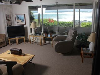 Haleiwa cottage photo - Large screen TV, DVD player, cable, Music Channel and free wi-fi