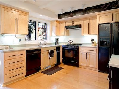 Enjoy the fully appointed kitchen!