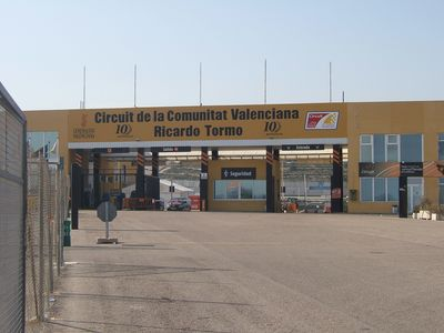 Ricardo Tormo race circuit at nearby Cheste
