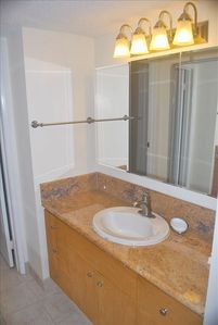Master Bath with Granite Countertop