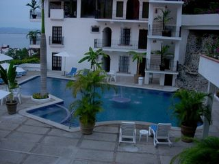 Puerto Vallarta condo photo - .Main pool view from our terrace.