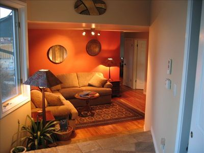 Stting area in your Boulder Countryside Rental. Watch the video for all details!
