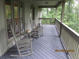 Blowing Rock cottage photo - The front porch
