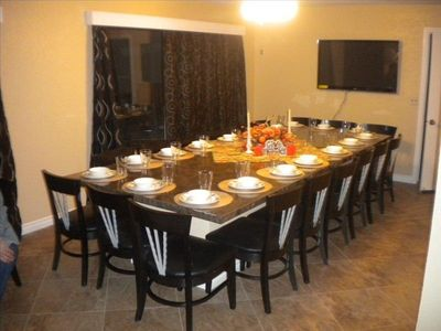 18 Person Dining Table