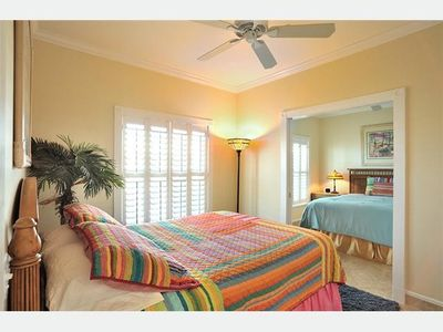 Key West condo rental - The 2nd & 3rd bedrooms can become a suite.