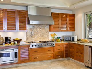 Puerto Vallarta villa photo - The wow kitchen of your dreams with marble floors.