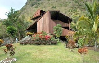 Soufriere house photo - View of Side of Villa
