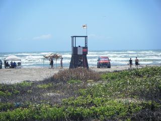 North Padre Island condo photo - Lifeguard stand on Whitecap Beach