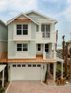 Ponce Inlet cottage rental - Front of Townhome