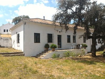 Cozy Andalusian Country House La Umbria de la Ribera House Patio