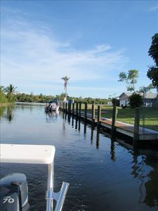 Private protected dockage available, close to house
