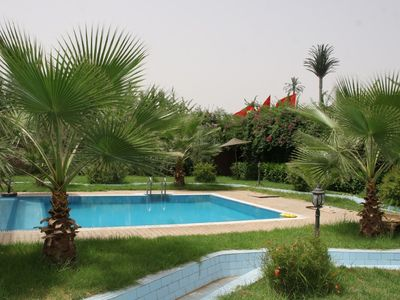 Photo For Luxury Villa With Large Private Pool, Beautiful Gardens, Heart Of  Marrakech