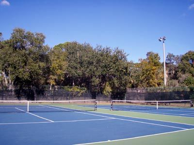 Tennis Courts adjacent to second pool