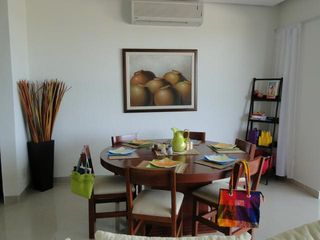 Isla Mujeres condo photo - Plenty of space for eating
