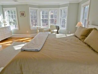 Vineyard Haven house photo - Master Bedroom Bay Window Sitting Area