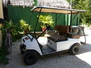 Akumal villa photo - Have fun zipping around Akumal in this!