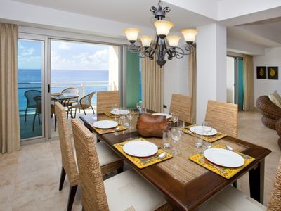 Cupecoy condo rental - Dining tables - inside or al fresco