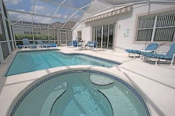 Highlands Reserve villa rental - Sun soaked pool deck and spa