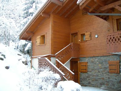 Luxury ski chalet apartment in Les Contamines, France