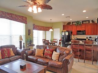 Family room and kitchen - Windsor Hills villa vacation rental photo