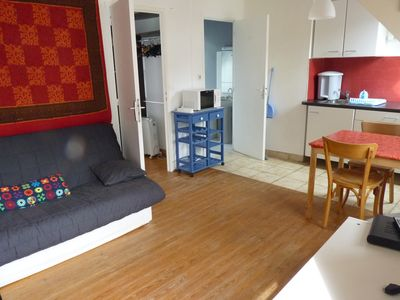 Apartment in the center of Quiberon, all conveniences feet, 1 parking