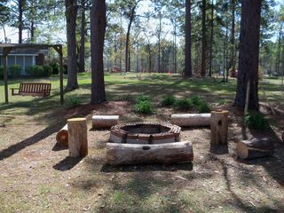 Lake Seminole house photo - Firepit
