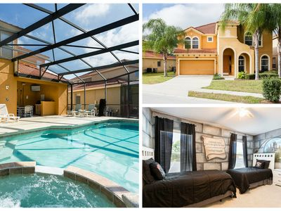 Amazing Rental w/ Saltwater pool/spa in Gated Resort minutes from WDW FREE WIFI