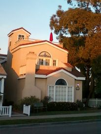 Seal Beach house rental - Attractive exterior with stained-glass windows