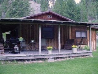 Missoula cabin photo - Montana cabin in the fall
