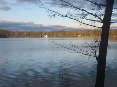 End of November view of Bass Lake
