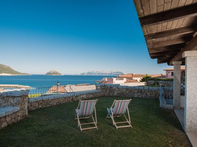 Seaview apartment with garden in front of the sea - Golfo aranci - Appartamento 1 - Trilocale sul mare - S'Abba e Sa Pedra