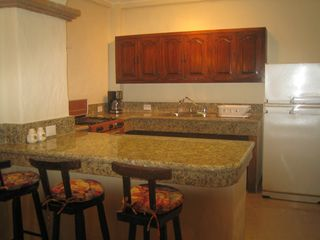 Puerto Vallarta condo photo - New marble kitchen surfaces.