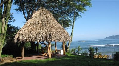 The Rancho - overlooking all of Tamarindo Bay