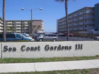 New Smyrna Beach condo photo - So you'll know where to turn in to begin your beautiful beach vacation...