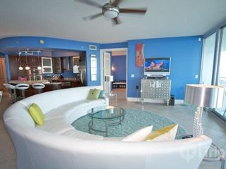 Orange Beach condo photo - Spacious living area