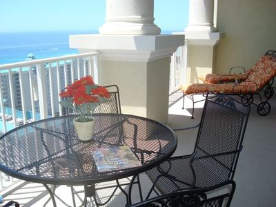 Enjoy your breakfast, or read your favorite book on the balcony.