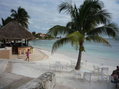 Beach in Puerto Aventuras.