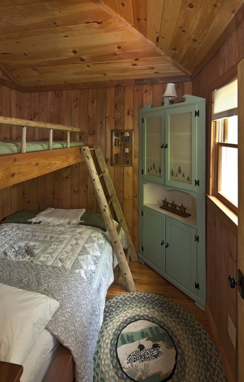 Bunk Room with Double on Bottom and Twin on Top