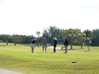 Fort Myers Beach condo photo - An 18 hole public golf course is across the street.