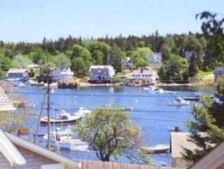 View of Bass Harbor from Bernard House
