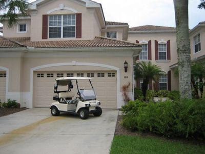Coach House, Garage and Golf Cart