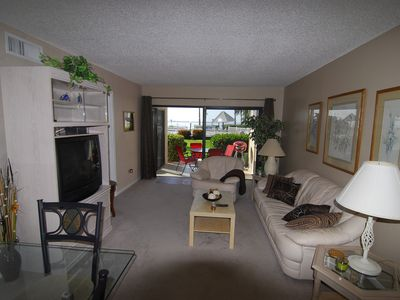 Isla del Sol condo rental - Living room