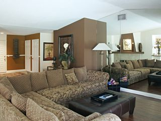 Palm Desert house photo - Large Super Size Sofa