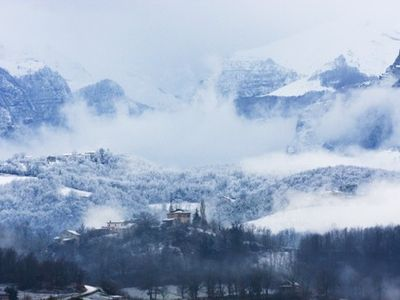 Mystical Amandola in winter