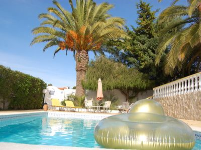 Beautiful real TOP villa walking distance town and beaches.